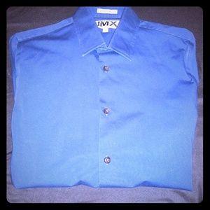 Men's Express 1MK Long Sleeve Bottom Down Shirt